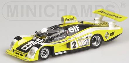 RENAULT ALPINE A 442B PIRONI WINNERS 24H LE MANS 1978 Minichamps 430781102