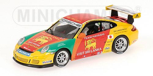 PORSCHE 911 GT3 CUP D.MALAGAMUWA CARRERA ASIA MACAU 2007 Minichamps 400076406 Mi