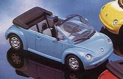 minichamps 1 43 volkswagen concept car cabriolet - 1994 - blue
