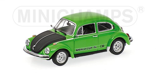 VOLKSWAGEN 1303 WARRIORS OF THE WORLD CUP 1974 green Minichamps 430055115