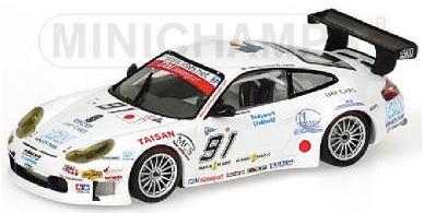 PORSCHE 911  GT3 RSR YAMAGISHI CAFFI 1000 KM SPA FRANCORCHAMPS 2005 Minichamps Mi  jusqu'à 42% de réduction