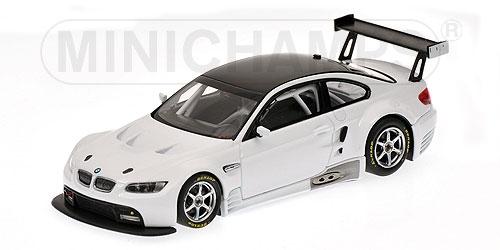 BMW M3 GT2 E92 2009 STREET blanc Minichamps 400092900