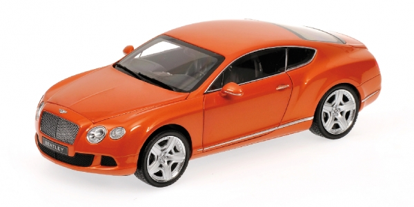 BENTLEY CONTINENTAL GT 2011 ORANGE ORANGE ORANGE METALLIC Minichamps 100139921 8bb835