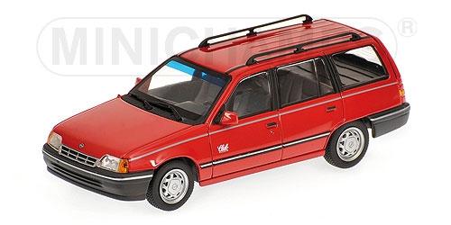 OPEL KADETT E CARAVAN 1989 rouge Minichamps 400045910 Minichamps