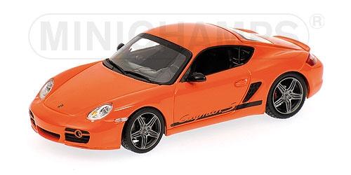 Porsche Cayman S 2008 arancia Minichamps 400065625 Minichamps