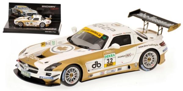 MERCEDES BENZ SLS AMG GT3 BAUMAN ADAC GT 2011 Minichamps 437110392