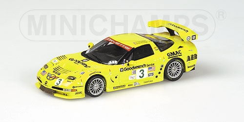 CORVETTE C5-R 12H SEBRING 2002 WINNER GTS CLASS FELLOWS Action AC 4021403