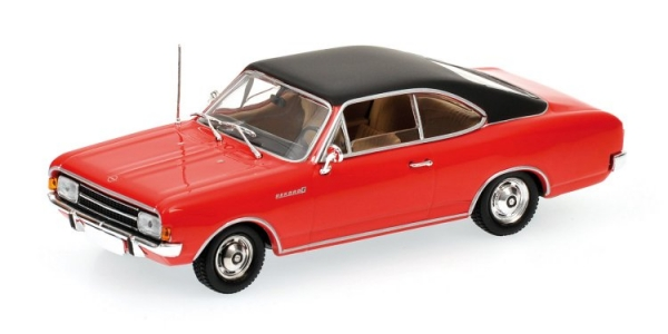 OPEL REKORD C COUPE' 1966 RED Minichamps 430046129