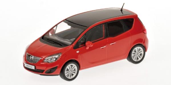 OPEL MERIVA 2010 rosso Minichamps 400040001