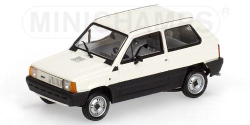 FIAT PANDA 34 blanco 1980 Minichamps 400121400 Minichamps