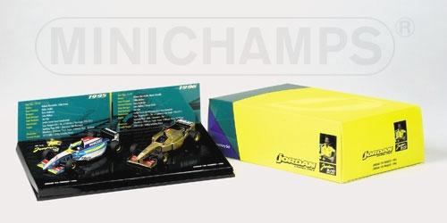 COFANETTO JORDAN 1995 & 1996 Minichamps 402109596
