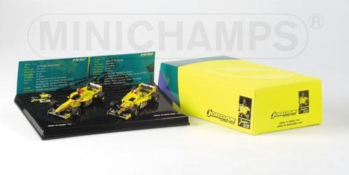 JORDAN SET 1997 & 1998 Minichamps 402109798