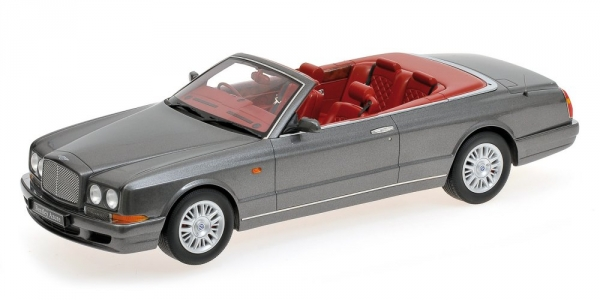 Bentley azure 1996 cabrio dunkelgraue metallic minichamps 107139930
