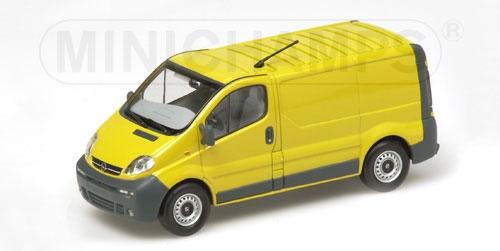 100% autentico OPEL VIVARO VIVARO VIVARO VAN 2001 amarillo Minichamps 430040560 Minichamps  exclusivo