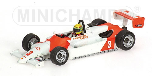 RALT TOYOTA RT3 A. SENNA WINNER GP MACAU 1983 Minichamps Senna Collection Minich