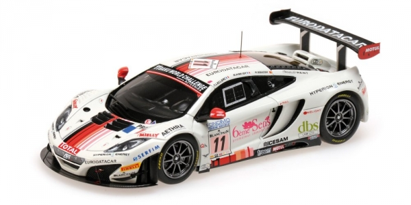 mclaren mp4 12c gt3 art grand prix leclerc parisy soucek 24h spa 2013 ripa srl. Black Bedroom Furniture Sets. Home Design Ideas