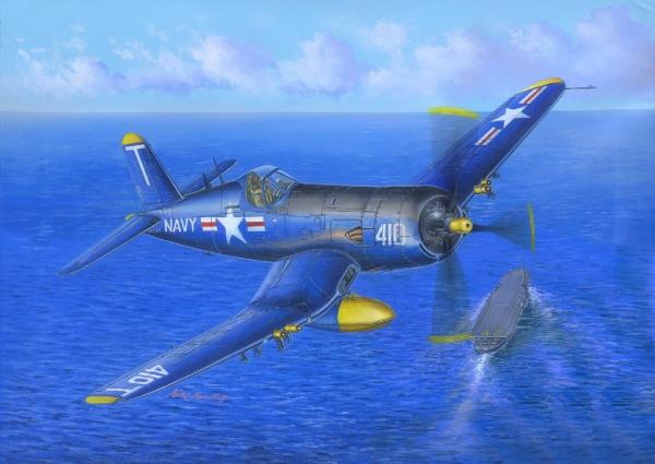 F4u-5 Corsair Hobby Boss Kit HB 80389 HOBBY BOSS Kit
