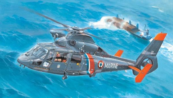As365n2 dolphin 2 hubschrauber trompeter kit tr 05106