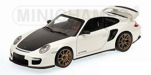 PORSCHE 911 997 II GT2 RS 2011 blanc WITH or WHEELS Minichamps 100069406