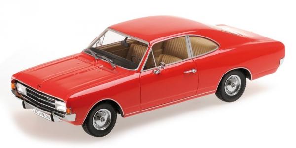 Opel rekord c coupé  1966 rote minichamps 107047020