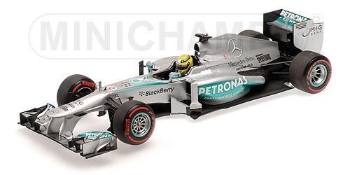 Mercedes F1 W04 Nico Rosberg Vainqueur Gp Monaco 2013 Minichamps 110130109