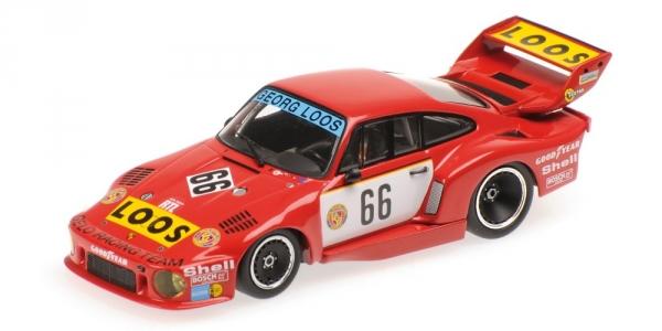 Porsche 935/77 Gelo Rolf Stommelen Vainqueur Drm Nürburgring 1977 Minichamps