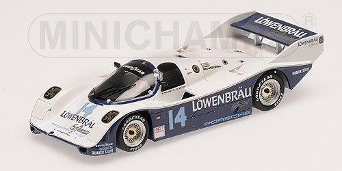 PORSCHE 962 IMSA LOWENBRAU HOLBERT BELL WINNERS 500KM MID-OHIO 1986 Minichamps M