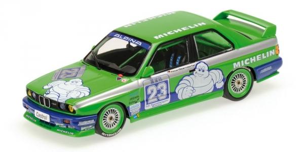 BMW M3 ALPINA PETER OBERNDORFER DTM 1988 Minichamps 430882023