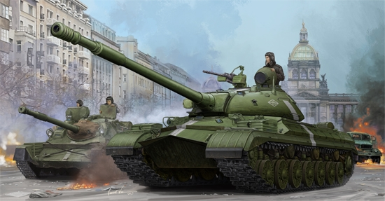 Sowjetische t-10m schwere panzer trompeter kit tr 05546