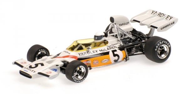 McLAREN FORD M19 BRIAN rougeMAN GERMAN GP 1972 Minichamps 530724305 Minichamps