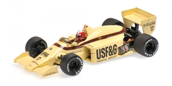 ARROWS BMW A8 MARC SURER 1986 Minichamps 400860017