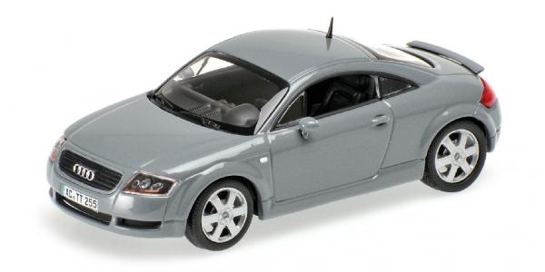 Audi Tt Coupe '1999 Minichamps Gris Métallisé 430017255