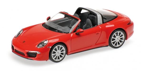 PORSCHE 911 TARGA 2013 rosso Minichamps 410062440 Minichamps