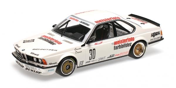 BMW 635 CSI SCHNITZER ETERNA BELLOF DANNER ETCC 1983 Minichamps 155832530