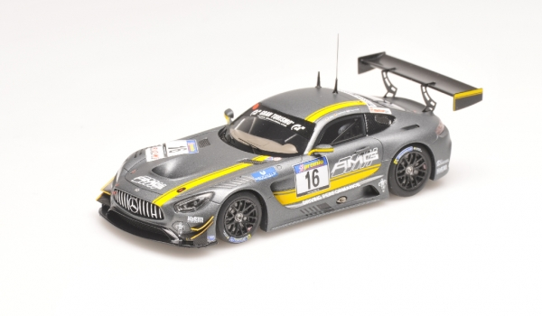 MERCEDES BENZ AMG GT3 JAGER SEYFFARTH BUURMANN VLN OCTOBER 2015 Minichamps