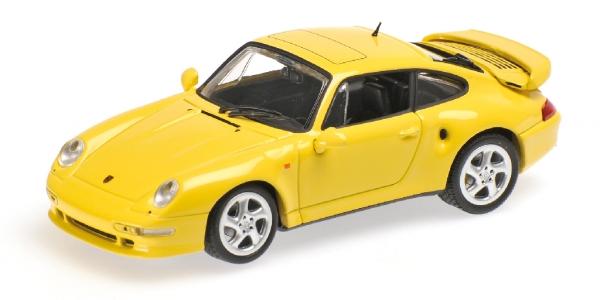 salida de fábrica PORSCHE 911 TURBO S 993 993 993 JUBILAUMSMODELL 1998 LIGHT amarillo Minichamps 430069270 M  cómodo
