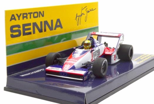 TOLEMAN HART TG183B AYRTON Senna COLLECTION BRAZILIAN GP 1984 Minichamps Senna