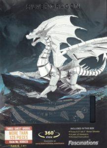 FA ICX023 SILVER DRAGON METAL EARTH 3D KIT
