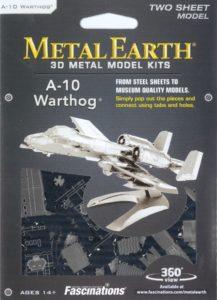 FA MMS109 A10 WARTHOG METAL EARTH