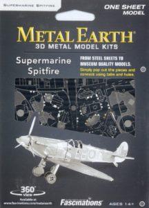 FA MMS110 SPITFIRE METAL EARTH 3D KIT