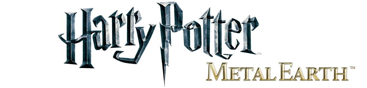 HARRY POTTER METAL EARTH LOGO RIPA