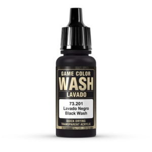 VALLEJO 73201 BLACK WASH