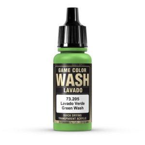 VALLEJO 73205 GREEN WASH