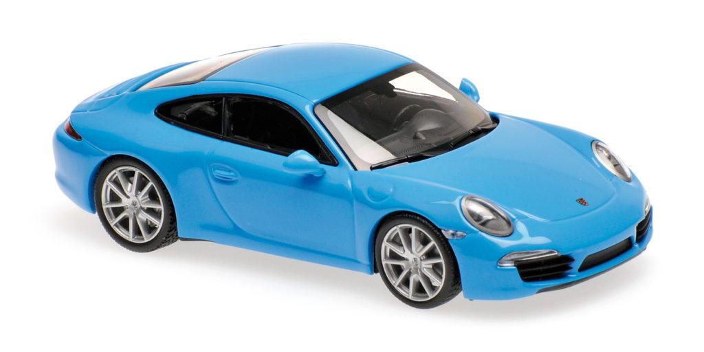 940 060220 PORSCHE 911 S 2012 BLUE MINICHAMPS