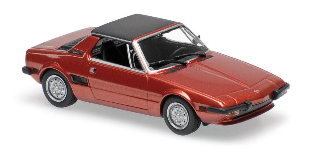 940 121662 FIAT X1-9 RED 1974