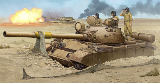 TR 01548 T-62 MOD.1962 IRAQUI REGULAR ARMY TRUMPETER