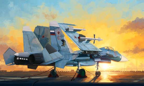TR 01678 RUSSIAN SU-33 FLANKER D TRUMPETER