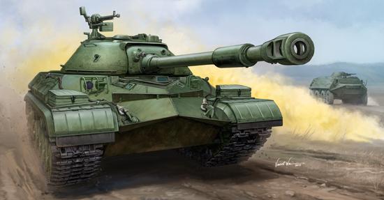 TR 05547 SOVIET T-10A HEAVY TANK TRUMPETER