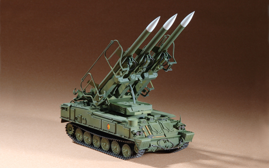 TR 07109 RUSSIAN SAM-6 ANTIAIRCRAFT MISSILE TRUMPETER