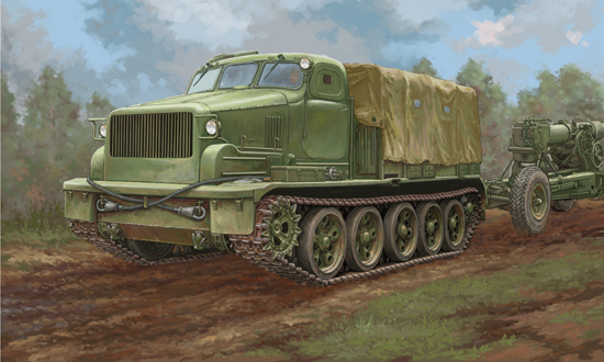 TR 09501 AT-T ARTILLERY PRIME MOVER TRUMPETER